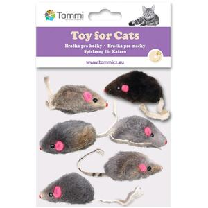 Katzenspielzeug Fellmäuse 6 Stk. Packung 5cm