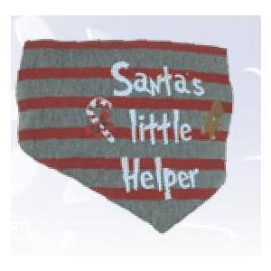 "Christmas Bandana ""Santas little Helper"" Gr. S"
