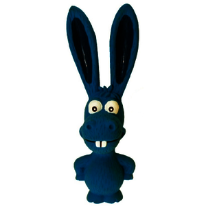 Latexspielzeug Ohren 18cm Blau