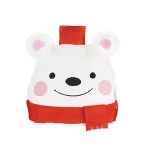 Christmas Toy Polar Bear 16x12x4cm