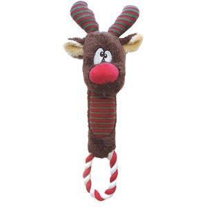 Weihnachtsspielzeug Plüsch Renntier 30 cm