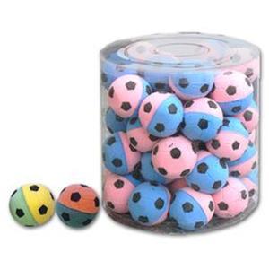 4 Stk. Katzenfussball Soft 4 cm