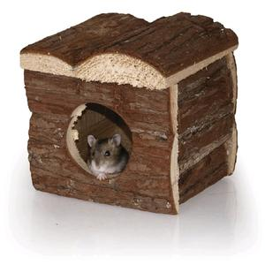 Holzhaus für Hamster 14 x 14 x 14 cm
