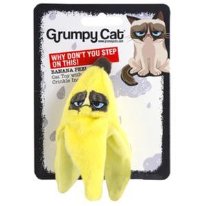 Grumpy Cat Banana Peel mit Catnip
