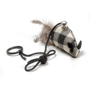 Katzenspielzeug Maus am Elastikband