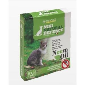 Niki Natural Defence NEEM Spot On Katze 5 x 2 ml