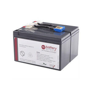 APC RBC142 Ersatzbatterie Plug 'n' Play