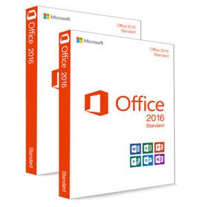 2 x Microsoft Office 2016 Standard 32/64 Bit Download Produkt