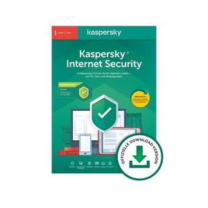 Kaspersky Internet Security 3 Geräte, 1 Jahr, (Multi-Device) per Postversand