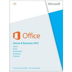 Microsoft Office 2013 Standard 32/64 Bit (Home & Business) - Produktschlüssel (Key) multilingual - Postversand!