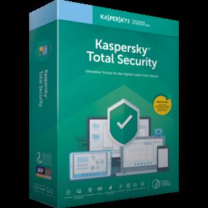 Kaspersky Total Security 1 Gerät, 1 Jahr, (Multi-Device) per Postversand