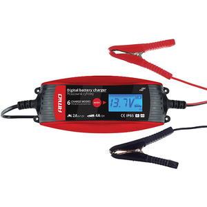 Auto KFZ Batterieladegerät Digital 12V Motorrad Batterie Ladegerät 6V IP65