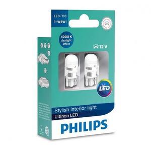 Philips W5W T10 12V LED 4000K Bulb Style Warm White Innenraumbeleuchtung