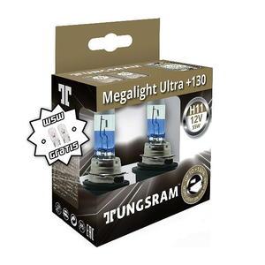 Tungsram H11 Megalight Ultra +130% Halogen Scheinwerfer Lampe PGJ19-2 12V 55W Duoblister + W5W T10 Standlicht