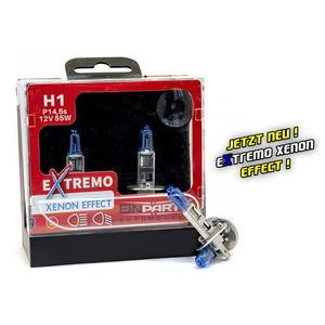EinParts H1 EXTREMO 100% XENON LOOK OPTIK EFFECT 8500K Halogen Scheinwerfer Lampe 12V E4 Duobox