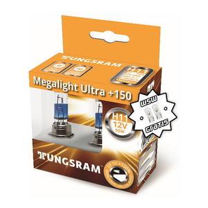 Tungsram H11 Megalight Ultra +150% Halogen Scheinwerfer Lampe PGJ19-2 12V 55W Duoblister + W5W T10 Standlicht
