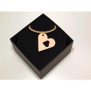 Halskette Zirbe Herz