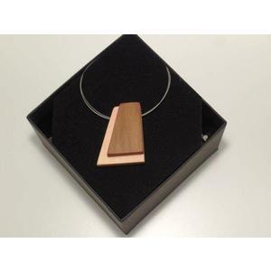 Halskette Zirbe Apfel Edelstahlcollier