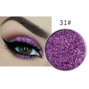 Festlicher Glitzer Eyeshadow Glitzer Lidschatten Glitter Augen Make Up Nr. 31 lila