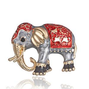 Elefant Brosche Anstecker Tier Brosche K39