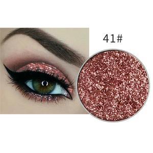 Festlicher Glitzer Eyeshadow Glitzer Lidschatten Glitter Augen Make Up Nr. 41 Rose