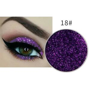 Festlicher Glitzer Eyeshadow Glitzer Lidschatten Glitter Augen Make Up Nr. 18 violett