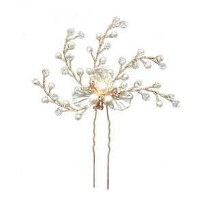 Hochzeit Haarschmuck gold, Kristall Brautschmuck, Haarnadeln für Braut Brautjungfer Ha508