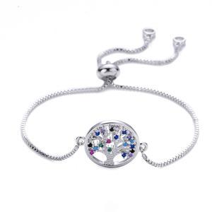 Armband Lebensbaum Baum Damen-Armband Silber A16