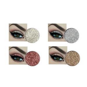 Glitzer Eyeshadow Glitzer Lidschatten Glitter Augen Make Up 4 Stück Set einzelverpackt
