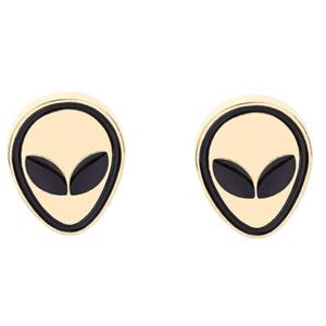 Alien Brosche Anstecknadel Anstecker Pins Metall Brosche 2 Stück Set