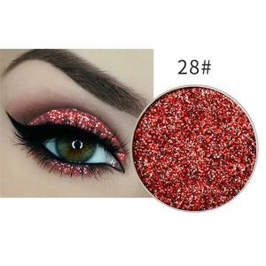 Festlicher Glitzer Eyeshadow Glitzer Lidschatten Glitter Augen Make Up Nr. 28
