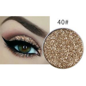 Festlicher Glitzer Eyeshadow Glitzer Lidschatten Glitter Augen Make Up Nr. 40