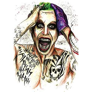 Joker - temporäres Fake Tattoo km141