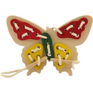 Fädelspiel Schmetterling