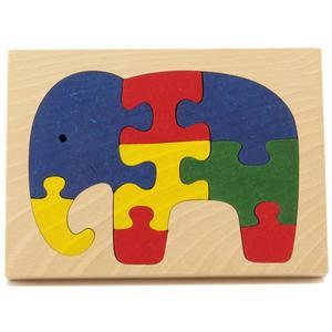 Holzpuzzle Elefant