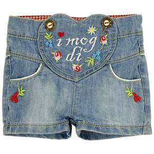"BONDI Jeans-Trachtenshort ""I mog di"""