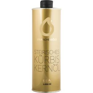 Steirisches Kürbiskernöl - Steirisches Gold, ungefiltert, traditionell, naturbelassenes 100% steirisches Kernöl g.g.A - 1000ml