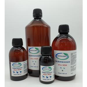Silberwasser 40ppm + MSM (Methylsulfonylmethan) 1000ml