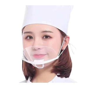 Mund Nasen Visier / Mund Nasenmaske / Gesichtsschild / Gesichtsvisier, Schutz gegen Flüssigkeiten wie Tröpfchen und Spritzer, 1 Stk.