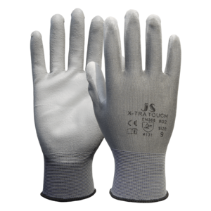 Handschuh Polyester-Feinstrick X-tra Touch #02 0923, Gr.6, 12 Paar