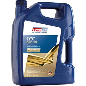 EUROLUB Synt 5W-40 Motoröl, 5 Liter
