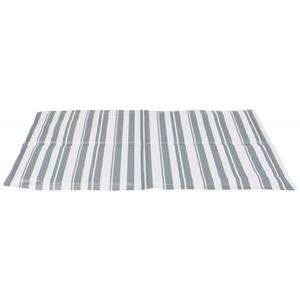 Kühlmatte weiß/grau, 65x50 cm