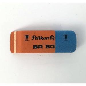 Radiergummi Pelikan rot/blau 619577 BR80