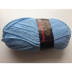 Wolle Sport 100g Farbe 086 (wasserblau)