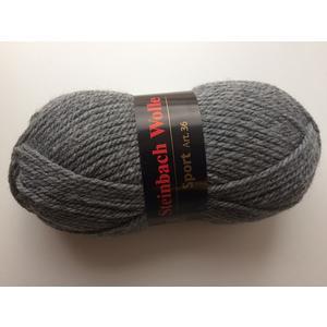 Wolle Sport 100g Farbe 093 (grau)