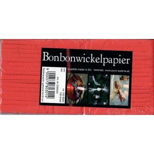 Bonbonwickelpapier 8x16, rot, ca. 100 Blatt