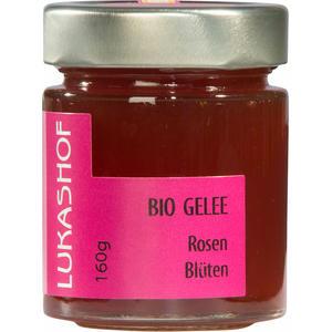 Bio Rosenblüten Gelee 160g