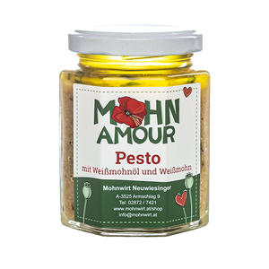 Weißmohnöl- Pesto 190ml
