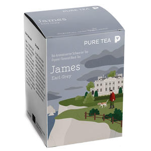 Bio Puretea James Earl Grey 15 Beutel