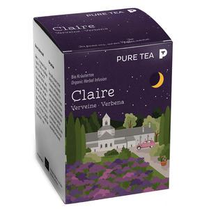Bio Puretea Claire Verveine 15 Beutel